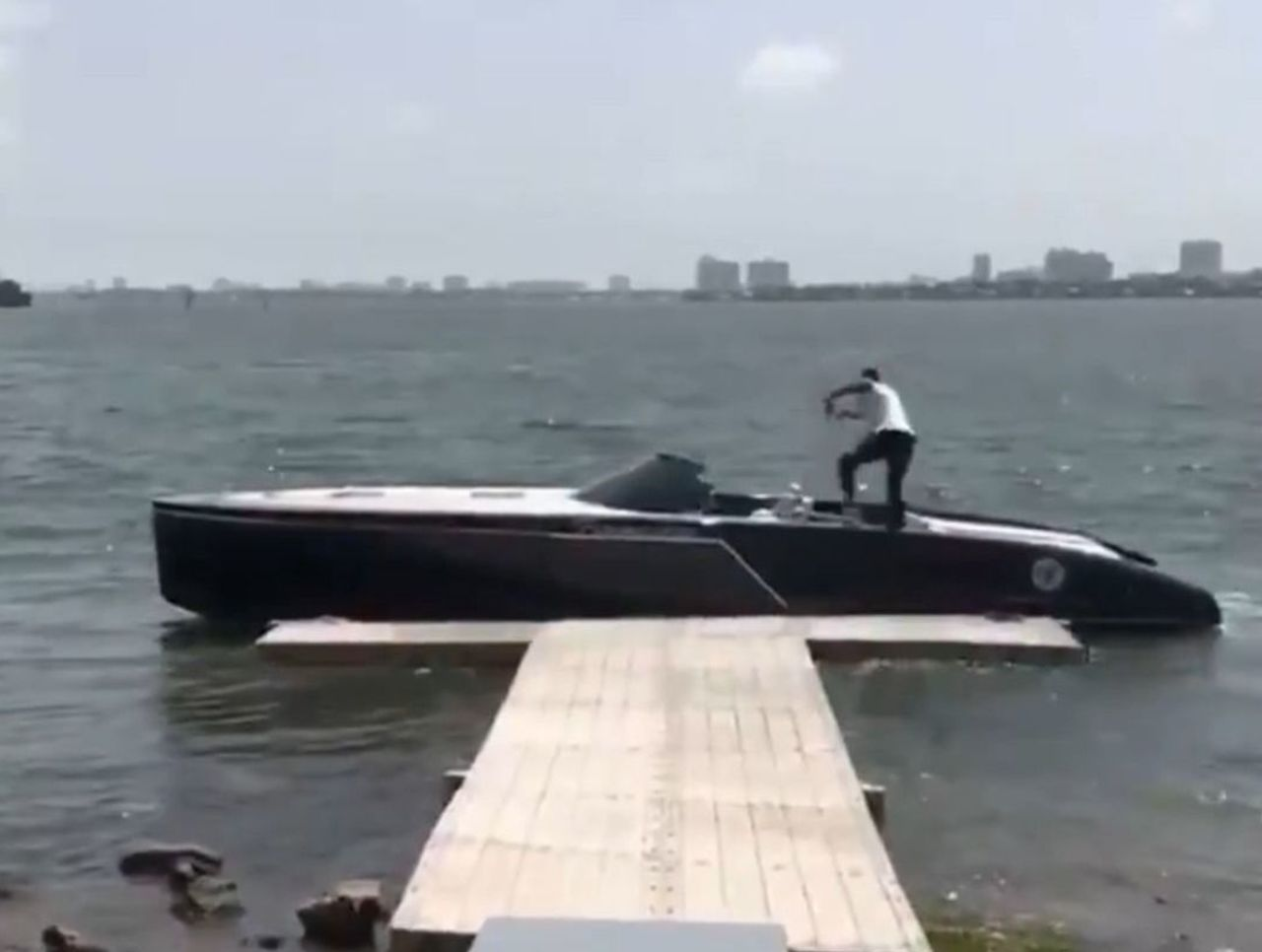 Cropped harden boat