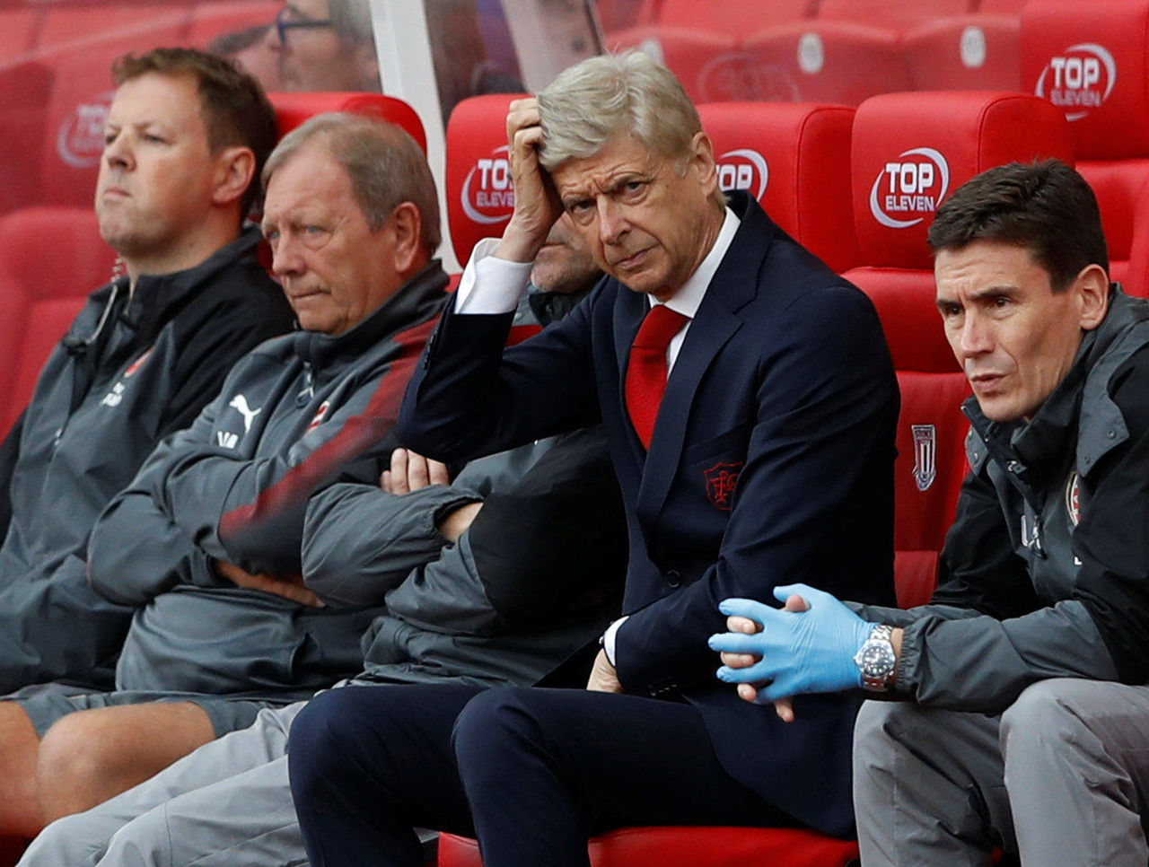Wenger reveals Arsenal's next transfer move after Stoke City defeat