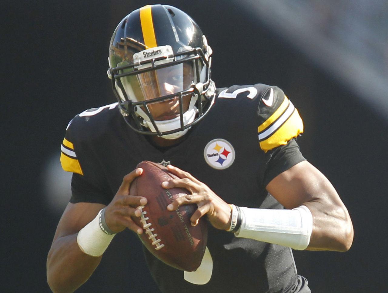 Watch: Steelers' Dobbs throws ridiculously careless interception