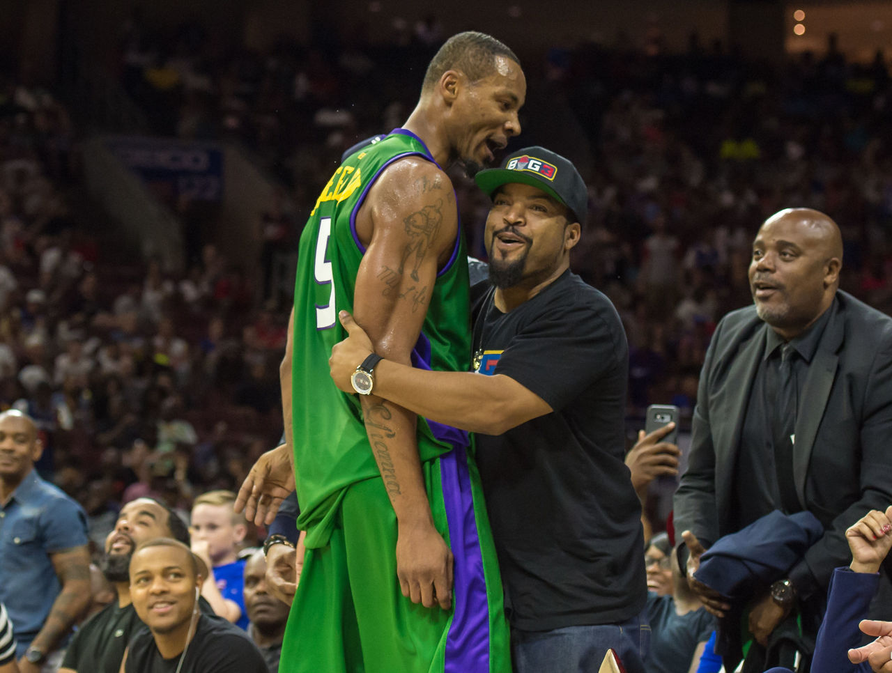 Rashard Lewis Stephen Jackson highlight BIG3 award winners