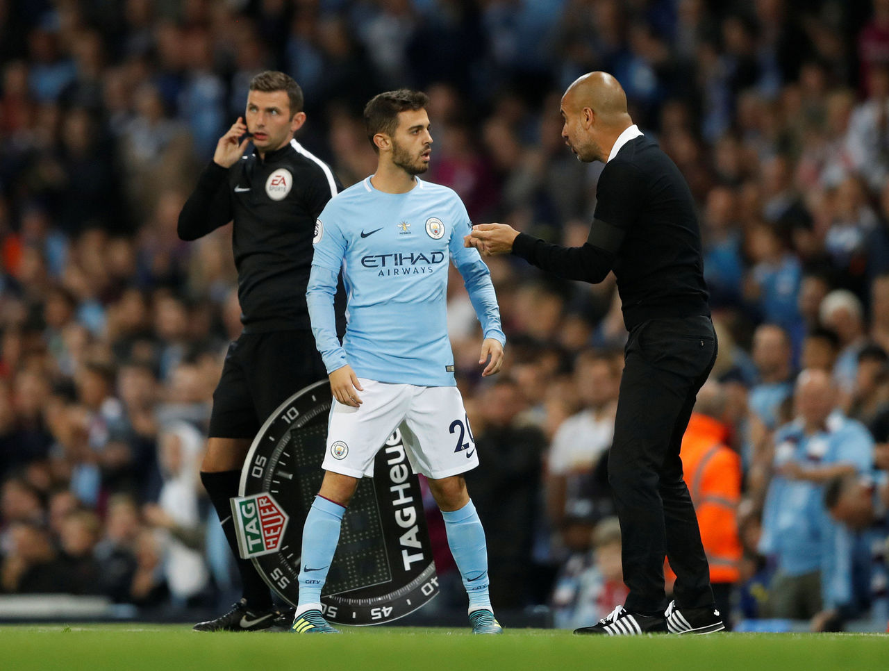 Guardiola delighted with Bernardo Silva bargain