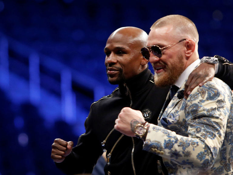 McGregor wants Mayweather rematch: 'I'll send his head into the bleachers'