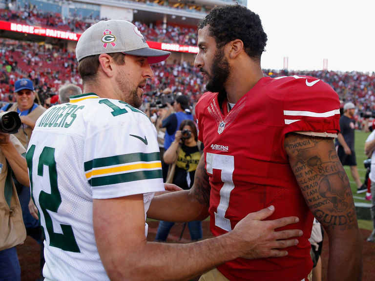 Rodgers: Kaepernick's protests keeping him from being signed
