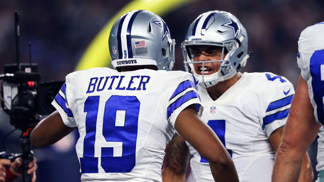 Watch: Cowboys' Butler extends for tough catch to tee up field goal