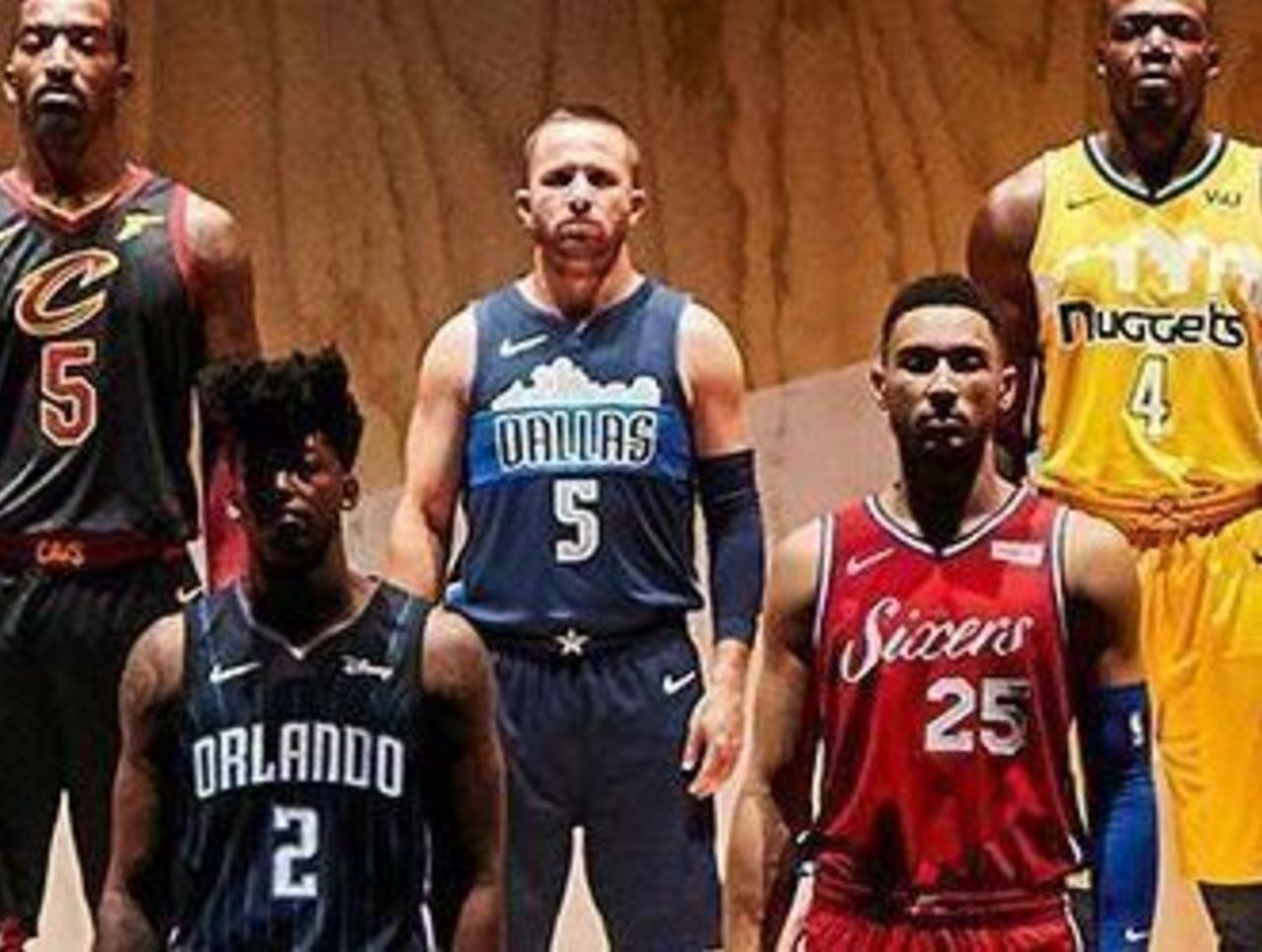 add42c81a Look  NBA Western Conference teams unveil  Statement  alternate ...
