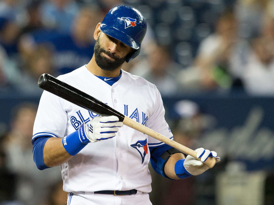 Report: Blue Jays told Bautista his 2018 option won't be exercised
