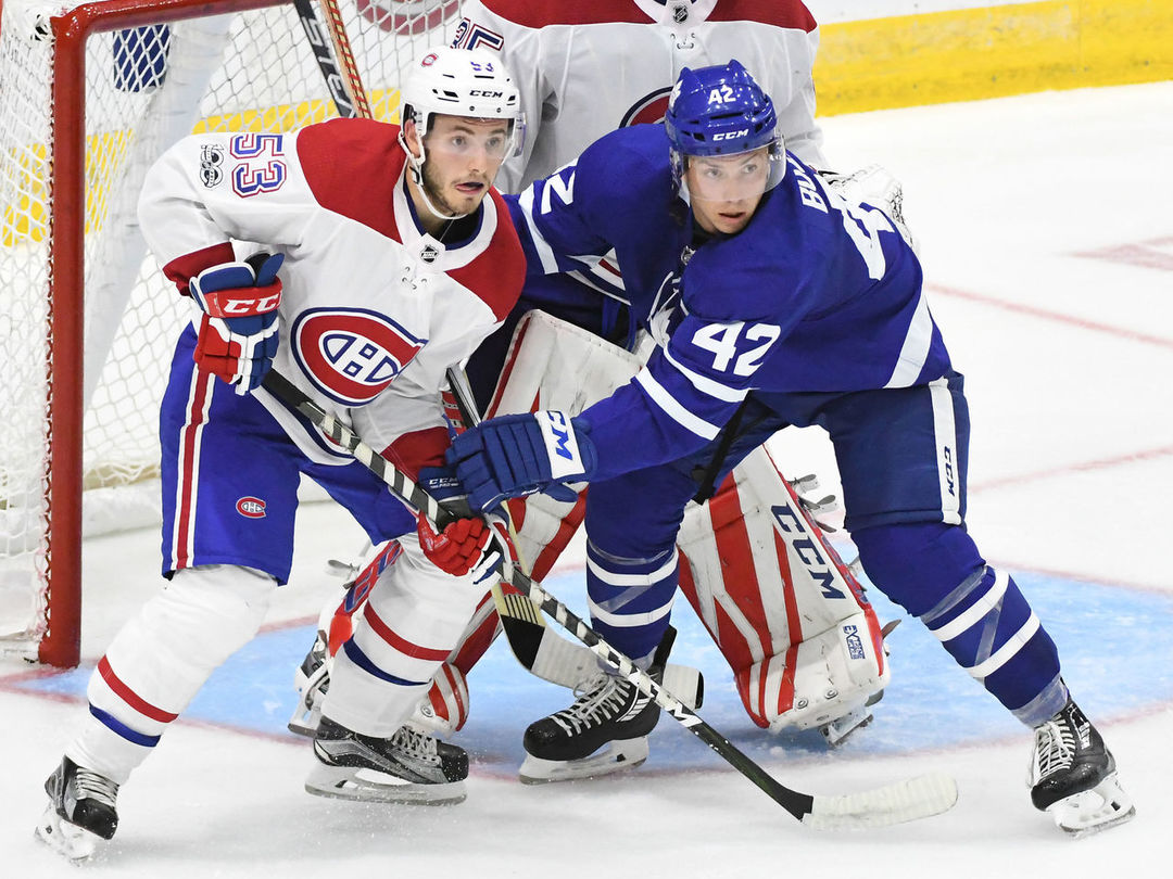 How different the Leafs' roster looked the last time they beat the Habs