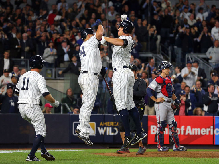 Yankees advance to ALDS with wild-card win over Twins