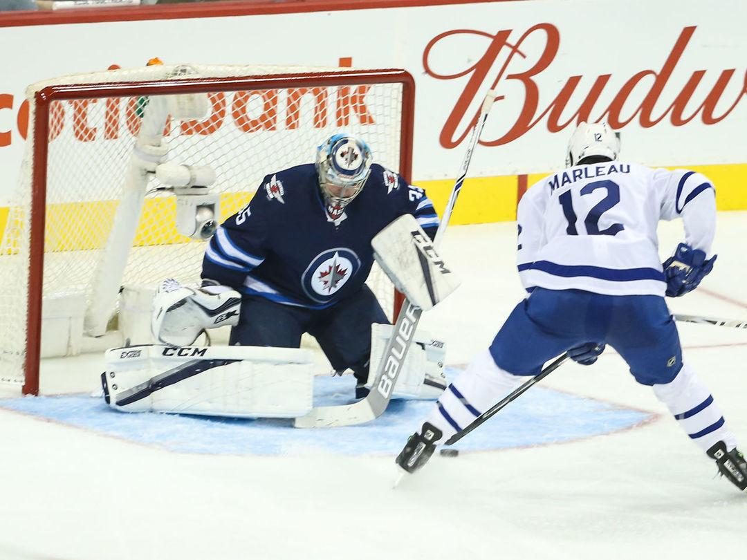 Watch: Matthews' pretty feed sets up Marleau's 1st goal with Leafs