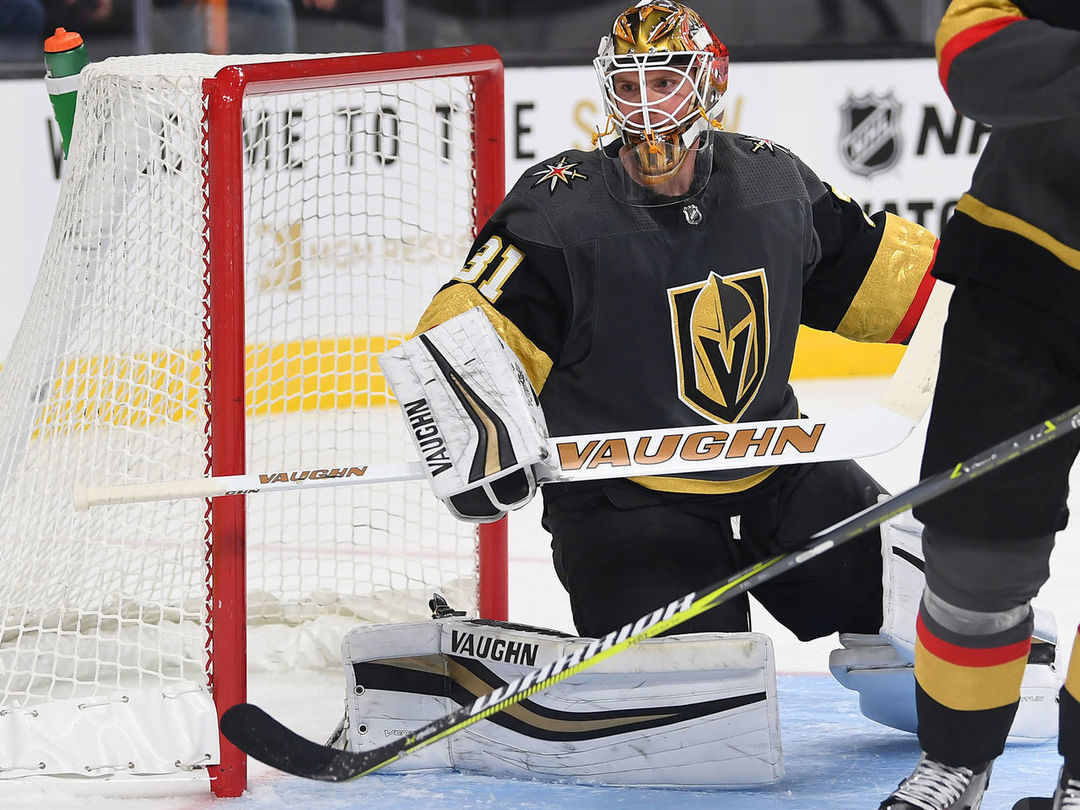 Maple Leafs acquire Calvin Pickard from Golden Knights for prospect, pick