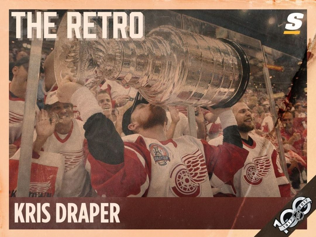 The Retro: Kris Draper on Yzerman, the Claude Lemieux hit, and being a cheater