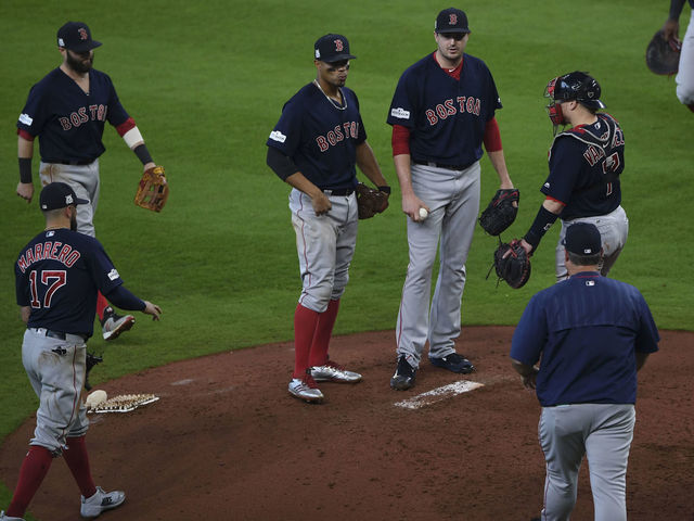 Red Sox use boatload of pitchers in 2 ALDS losses