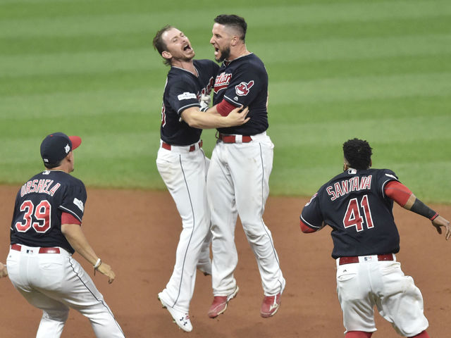 Indians complete stunning comeback with walk-off win over Yankees