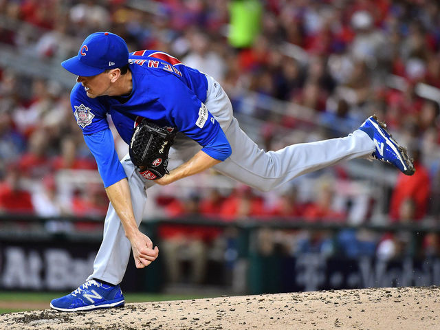 Hendricks outduels Strasburg as Cubs take Game 1