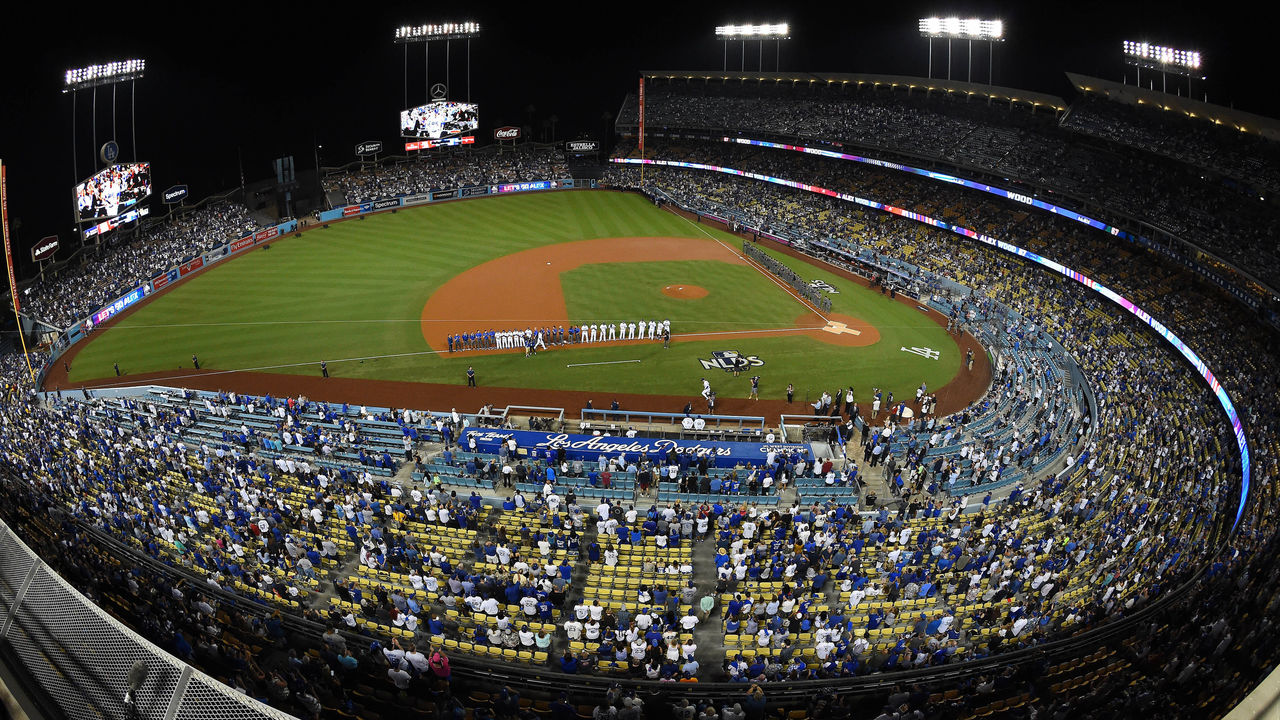 Cropped dodger stadium