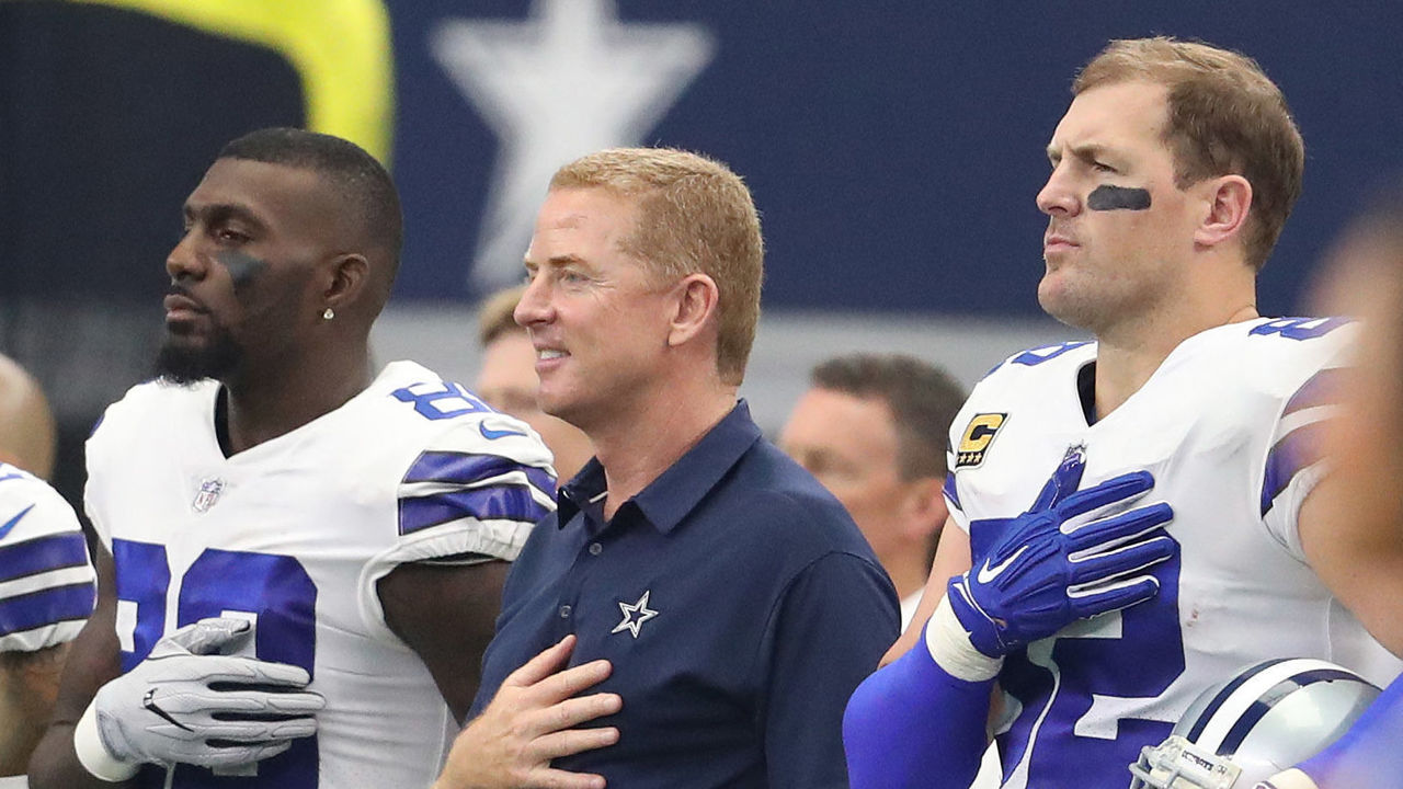 eed8ee0d3f25 Cowboys  Garrett claims Moore wasn t cut because of anthem protests ...