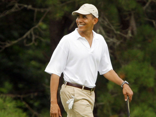 Report: Obama joins D.C.-area golf club