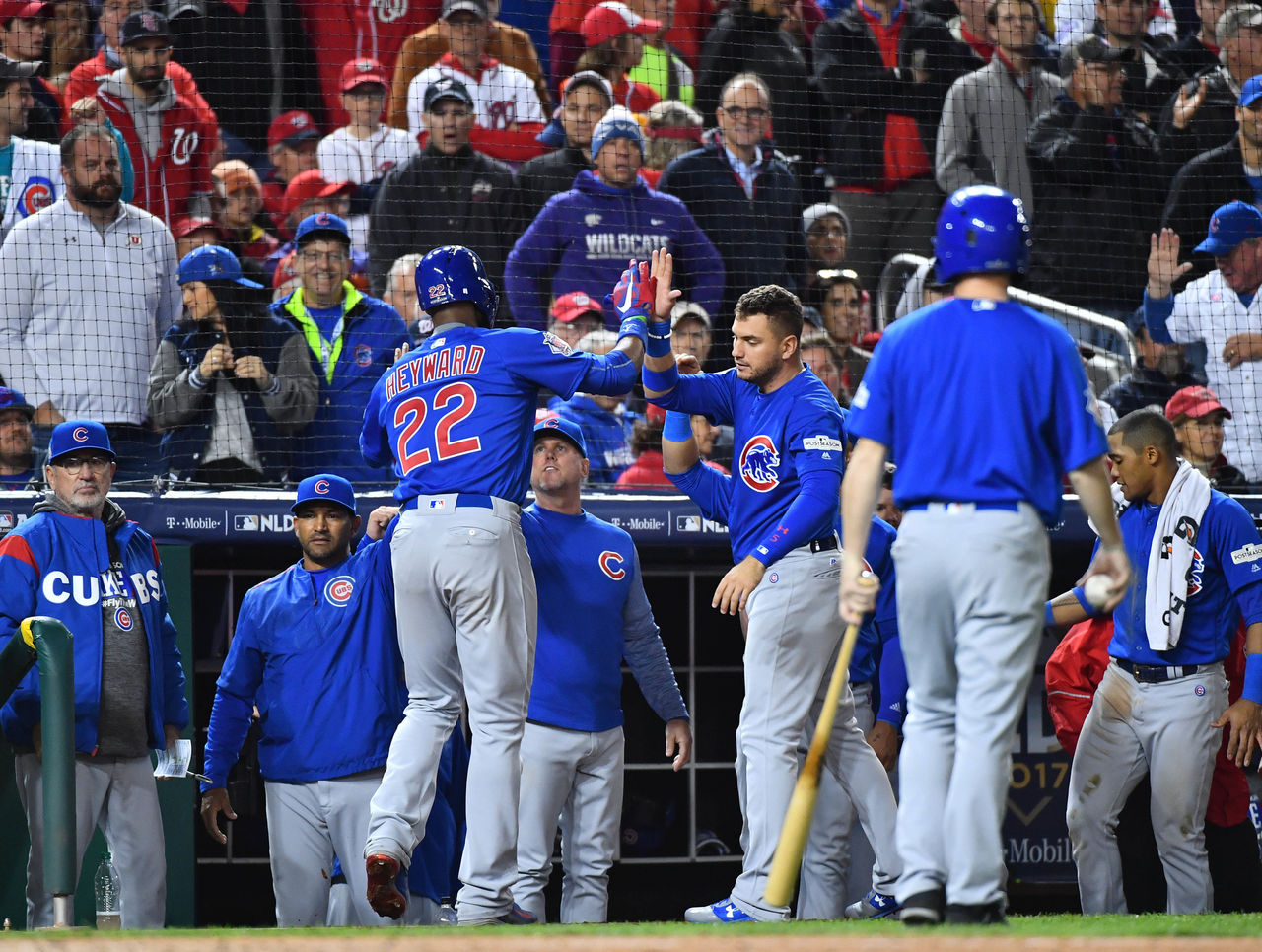 Cubs defeat Nationals to advance to NLCS | theScore.com