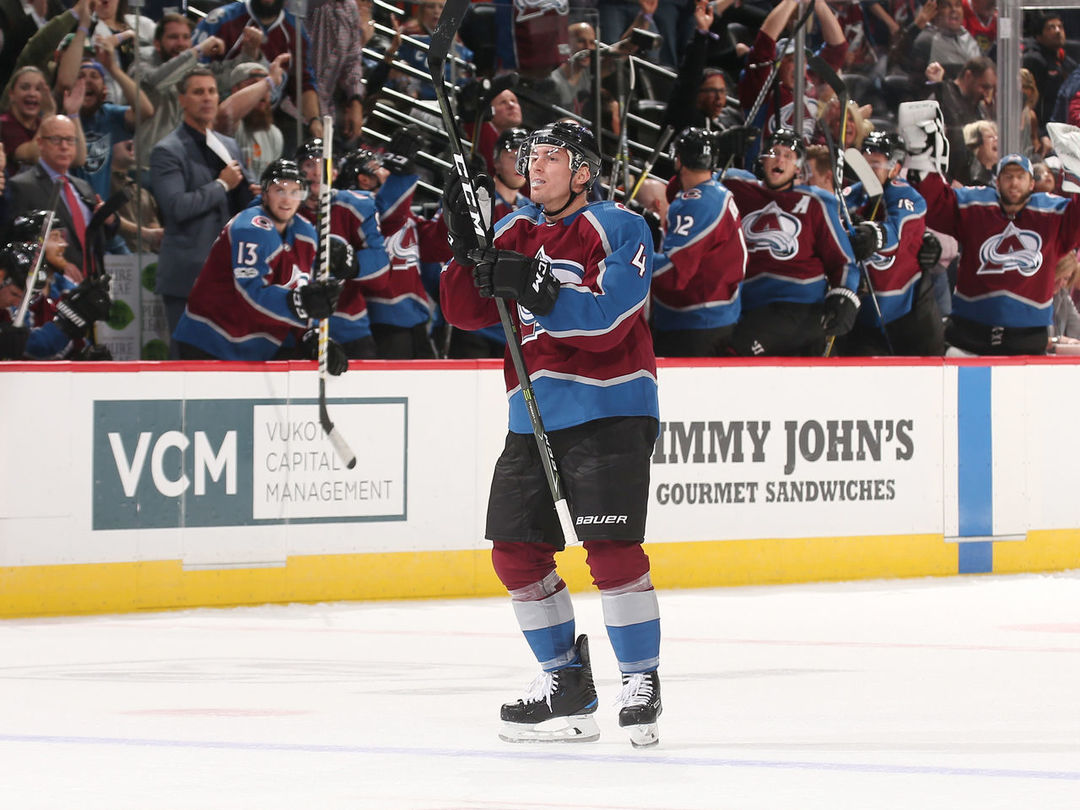 Barrie's late goal helps Avalanche dump Ducks for 3rd straight win
