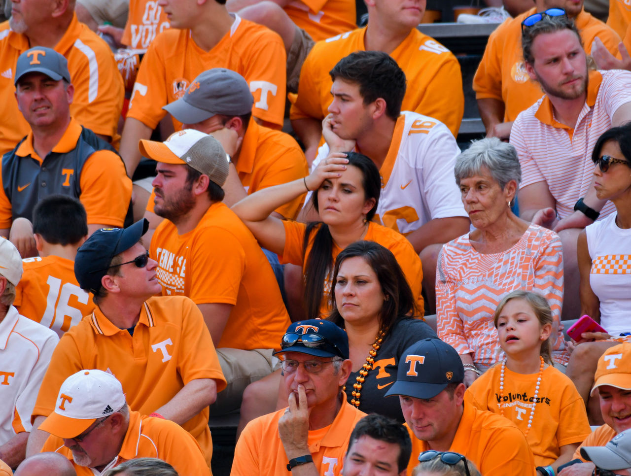 Image result for dejected tennessee fans