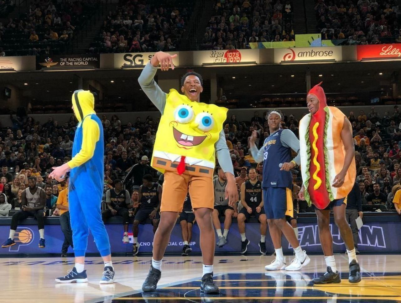 Cropped spongebob pacers