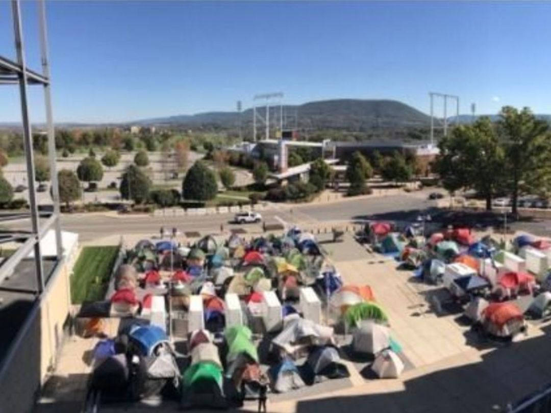 Penn State fans already camping out for tickets to Michigan clash