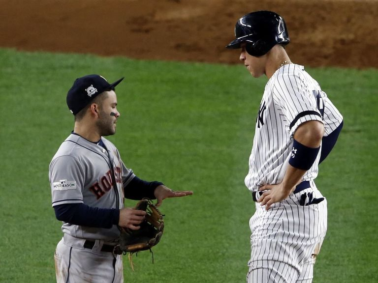 ALCS punctuates neck and neck MVP race between Judge, Altuve