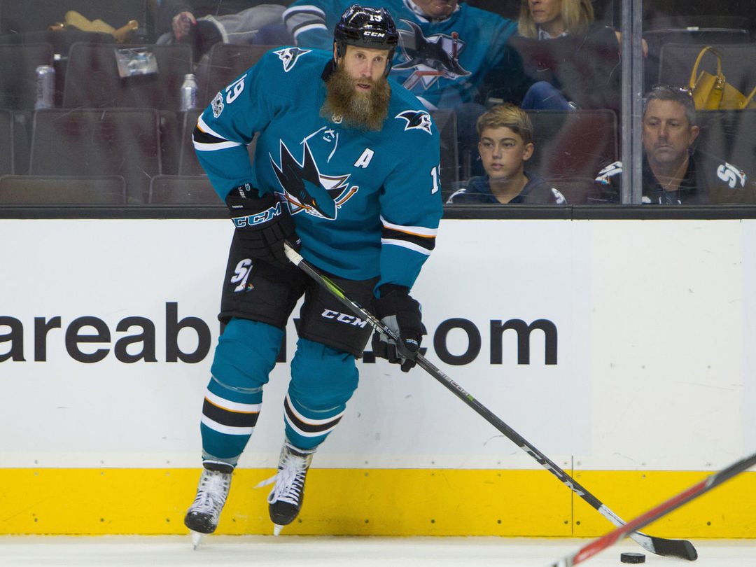 Sharks' Thornton moves to 20th on NHL's all-time points list