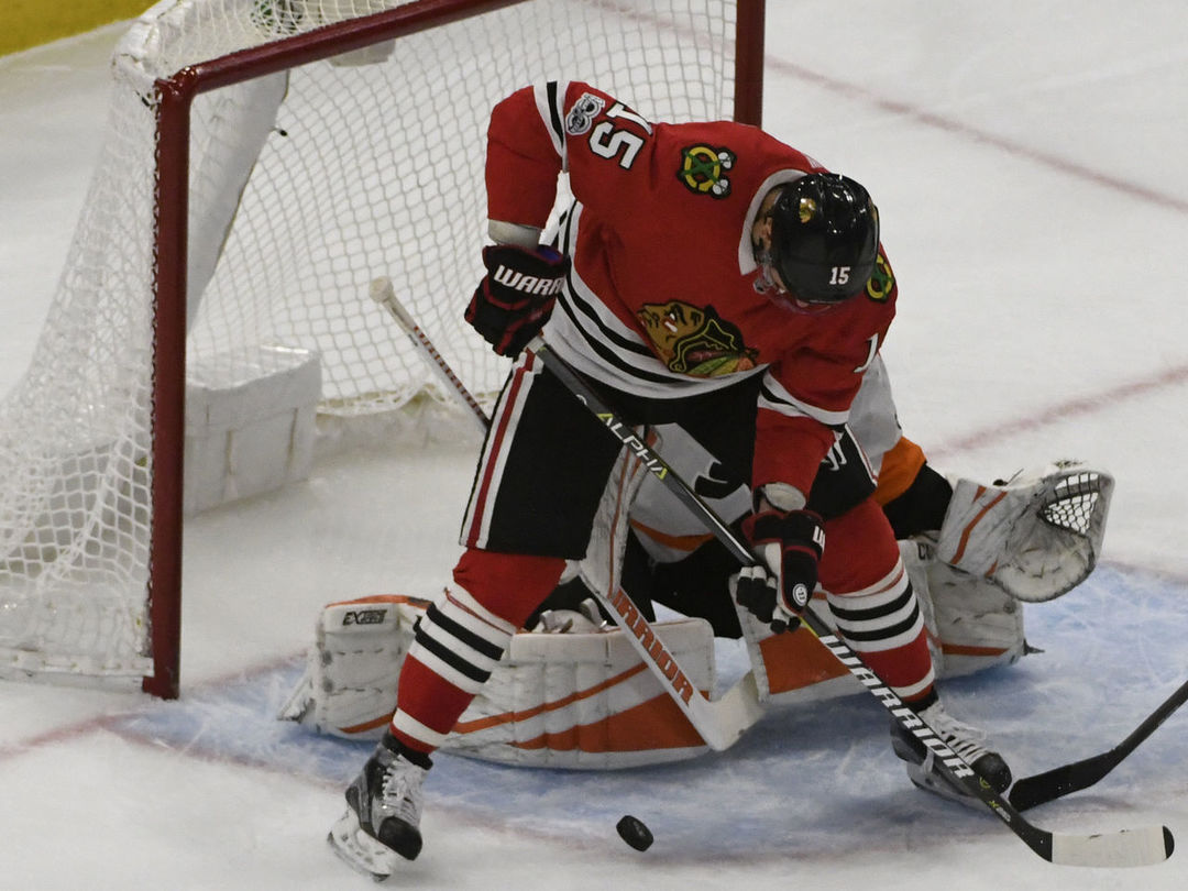 Blackhawks snap power-play drought