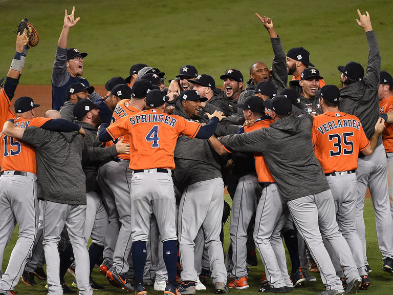 Astros win 1st World Series in franchise history