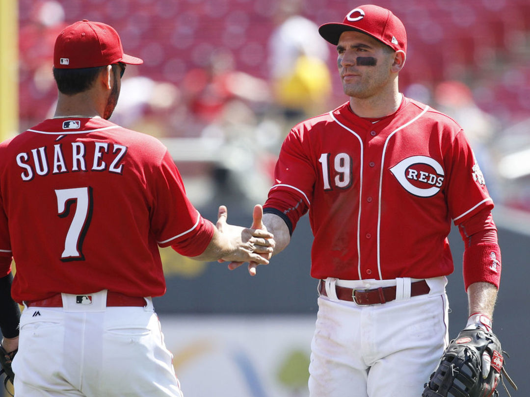 MVP candidate Votto praises BBWAA for their awards voting process