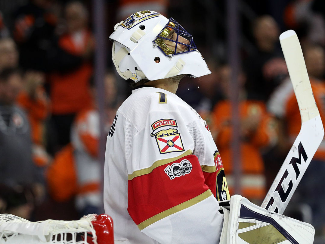 Luongo grabs sole possession of 4th on all-time wins list