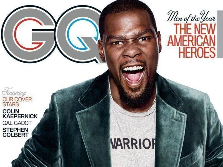 Durant named GQ's Champion of the Year