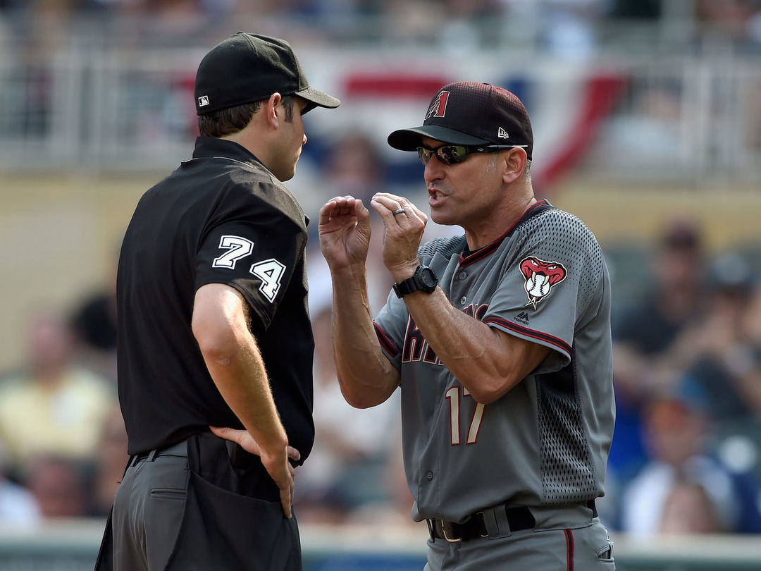 D-Backs' Lovullo named NL Manager of the Year