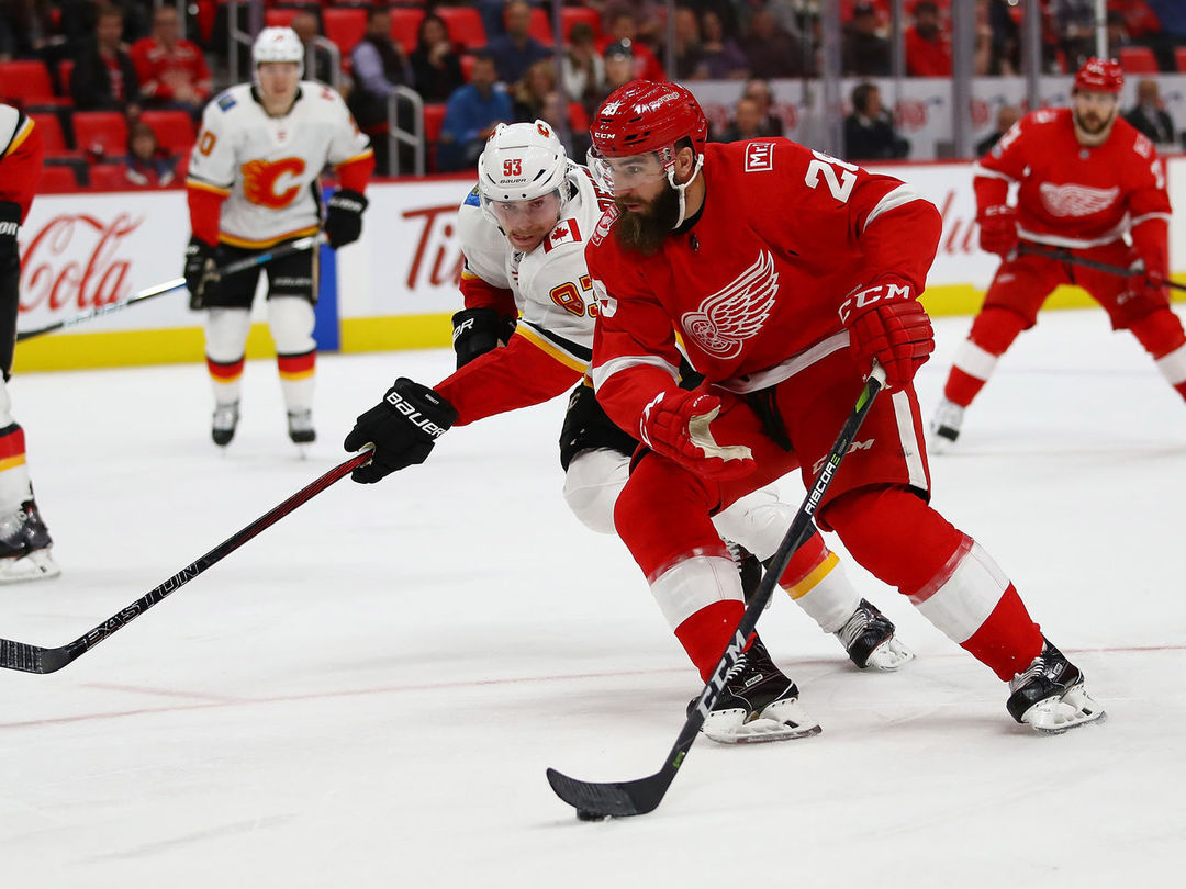 Wings' Witkowski wasn't aware of rule that carried automatic 10-game ban