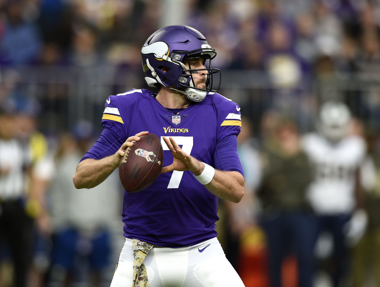 Vikings' Zimmer: It'd be 'hard to yank' Keenum in current form