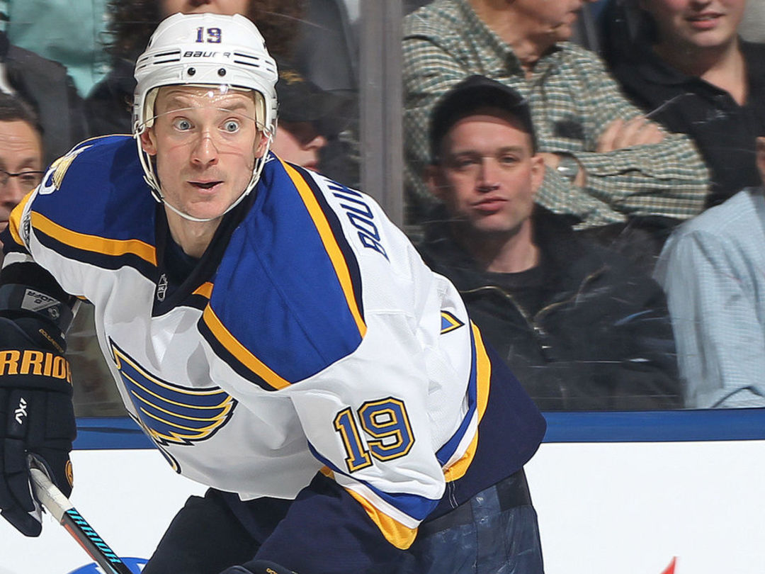 1st-place Blues expecting boost from Bouwmeester's return