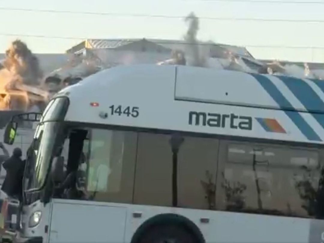 Look: Bus blocking Georgia Dome implosion is newest sports meme