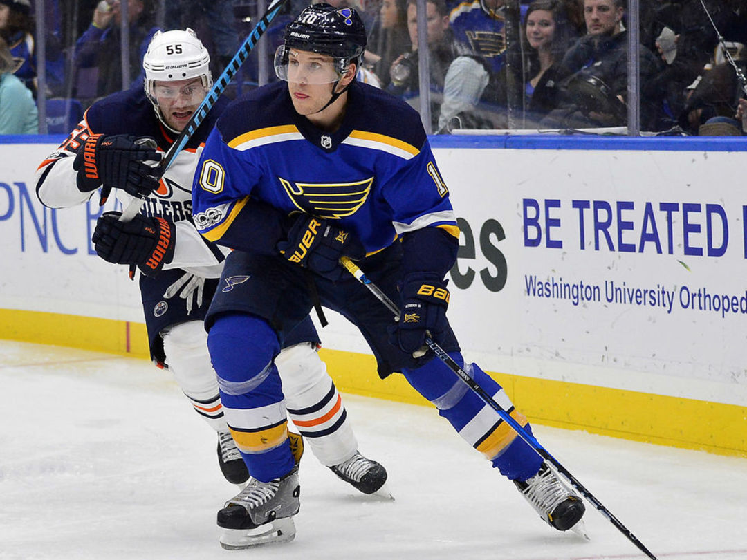Blues' Schenn among NHL's scoring leaders thanks to point streak