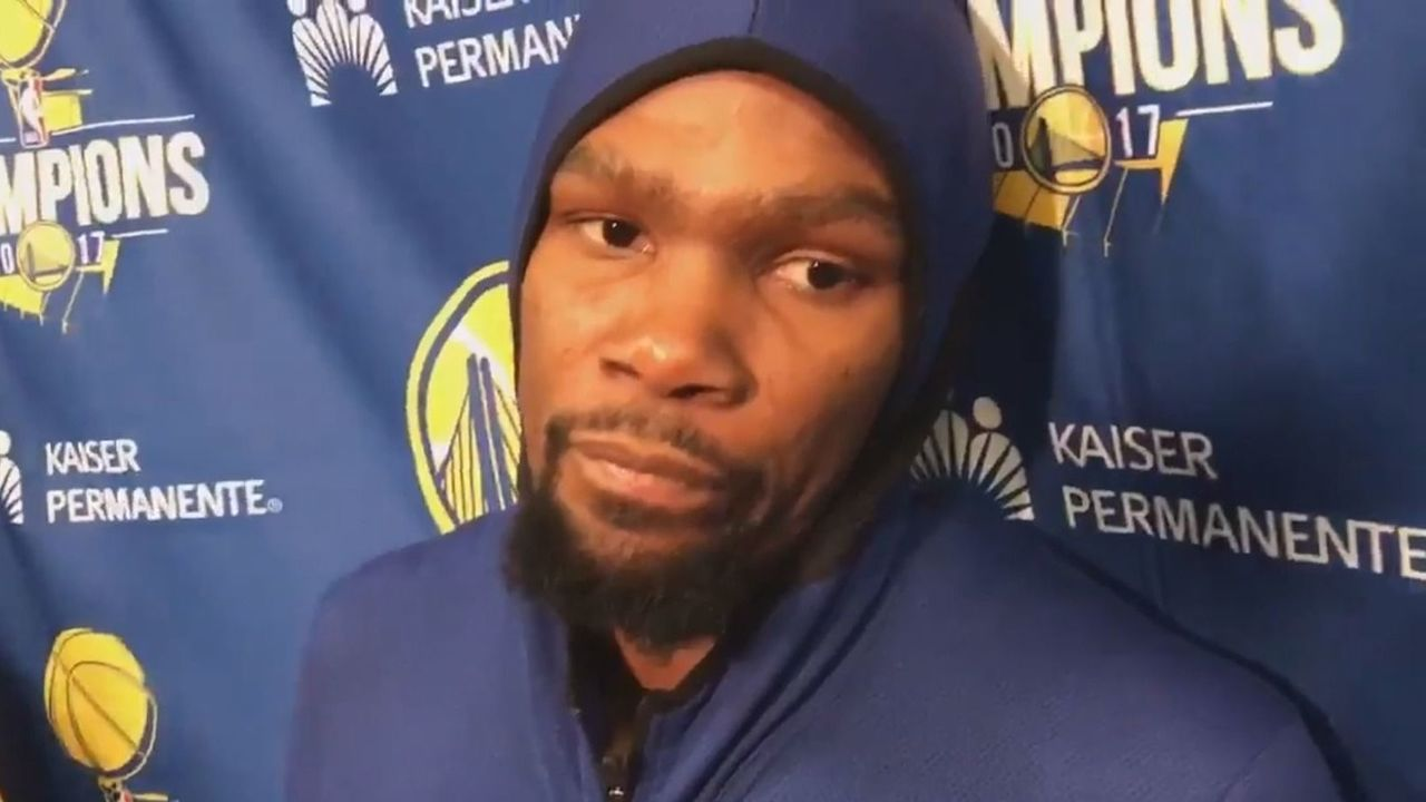 Cropped durant unhaooy