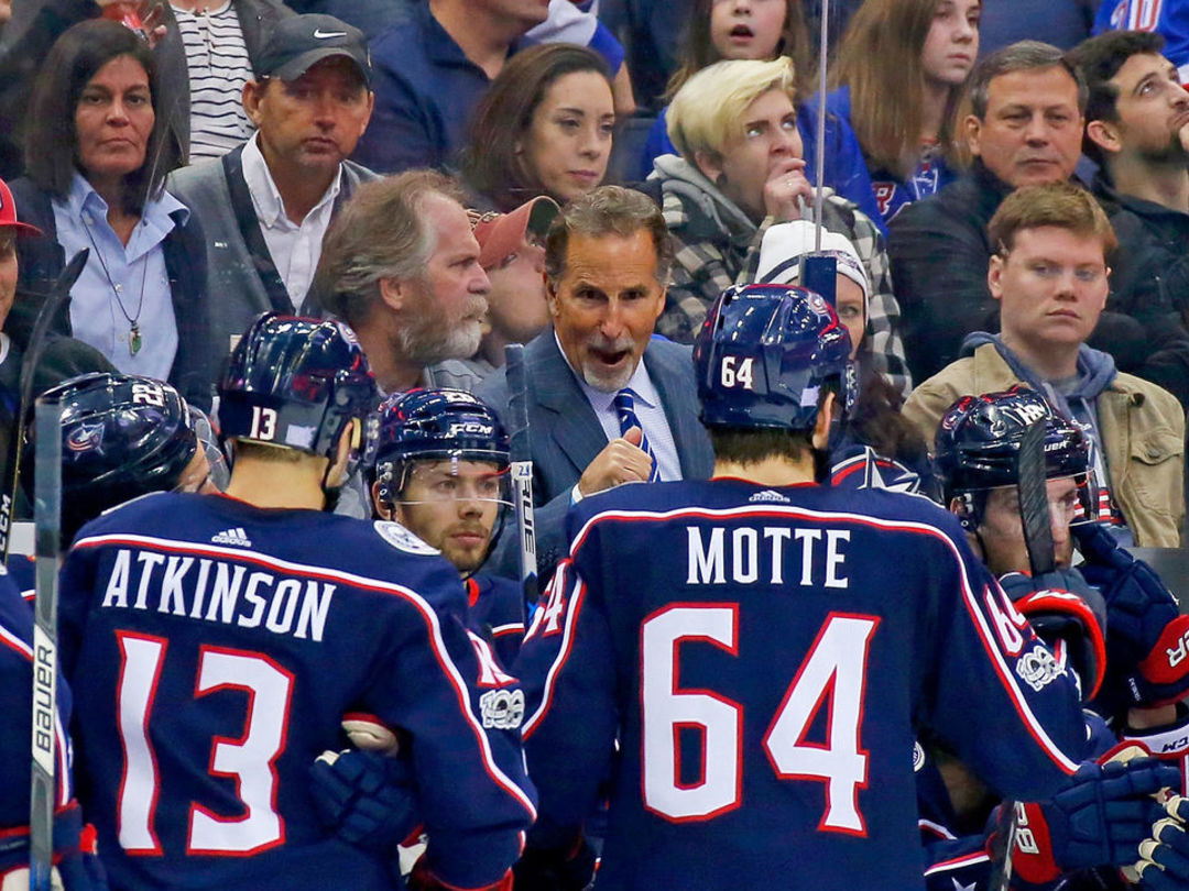 Blue Jackets' Tortorella: The science of line structuring is 'a bunch of bullsh--'
