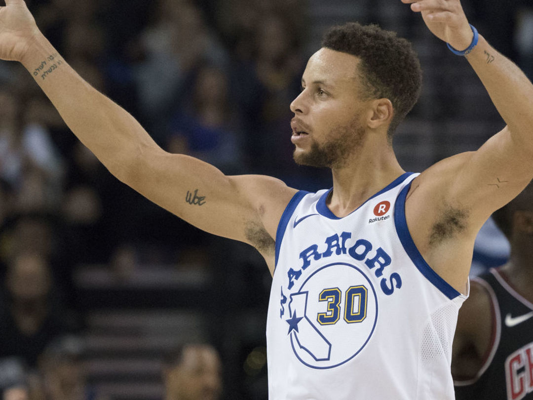 Undermanned Warriors blow out Bulls for largest margin of victory in NBA this season