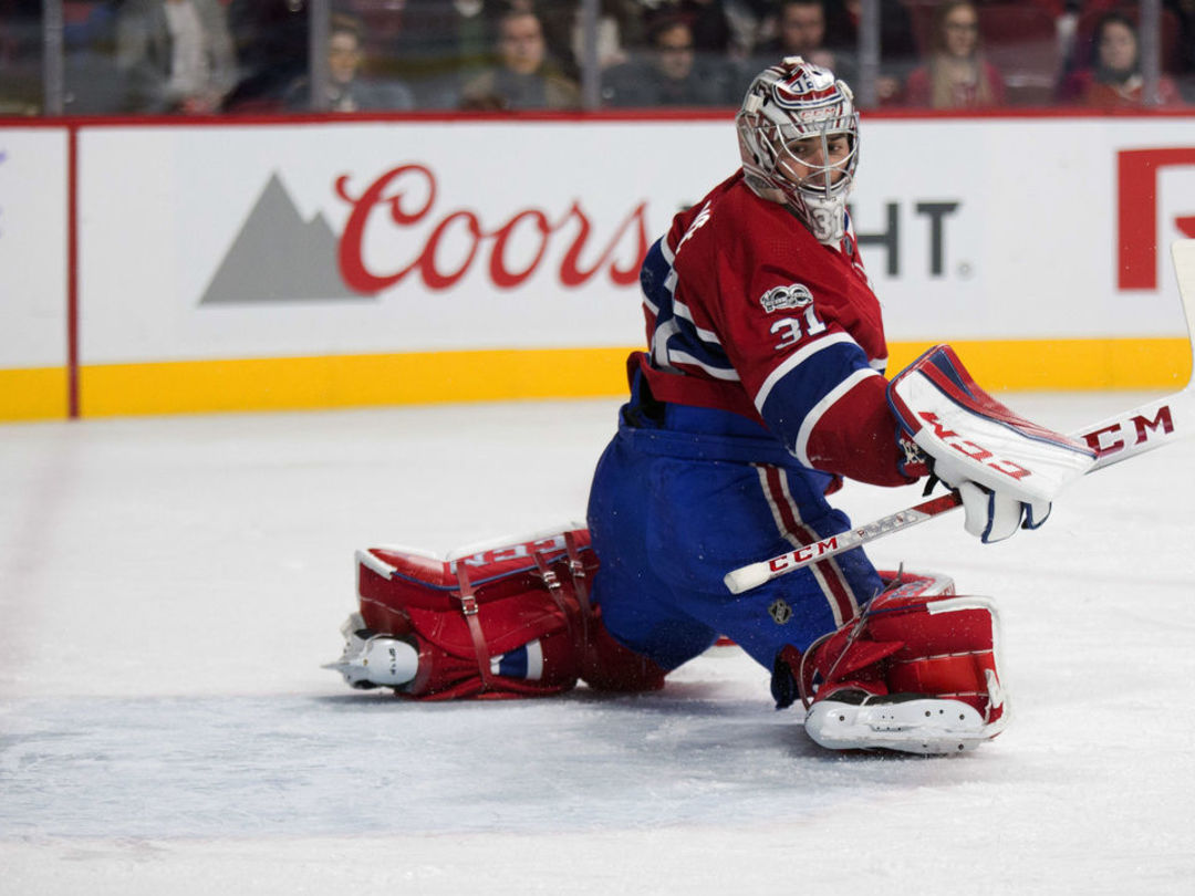 Price shuts out Sabres in return from 10-game injury absence