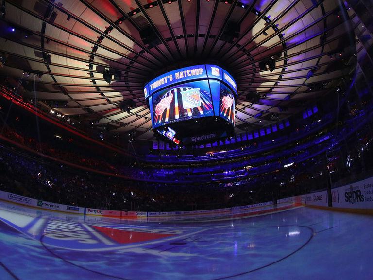 Rangers match Golden Knights for longest home win streak of season