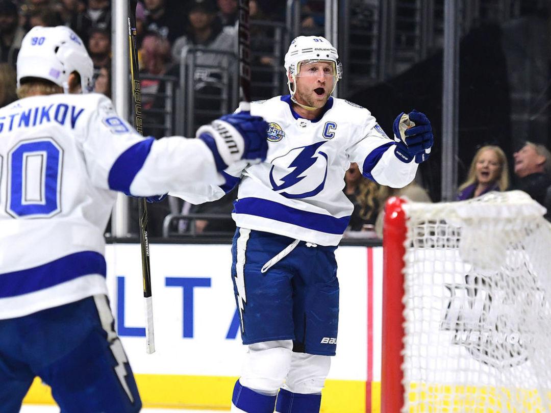 Stamkos: Lightning's top line getting chances despite slump