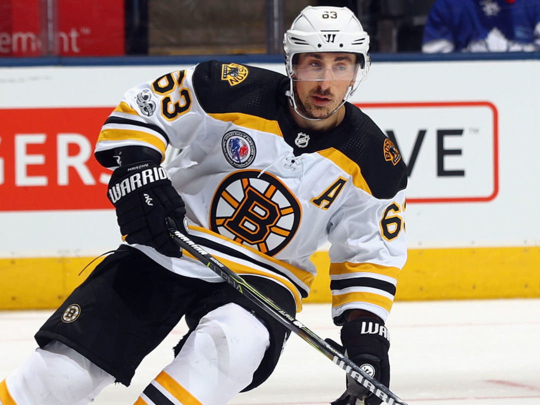 Marchand, Backes set to return to Bruins' goal-starved lineup