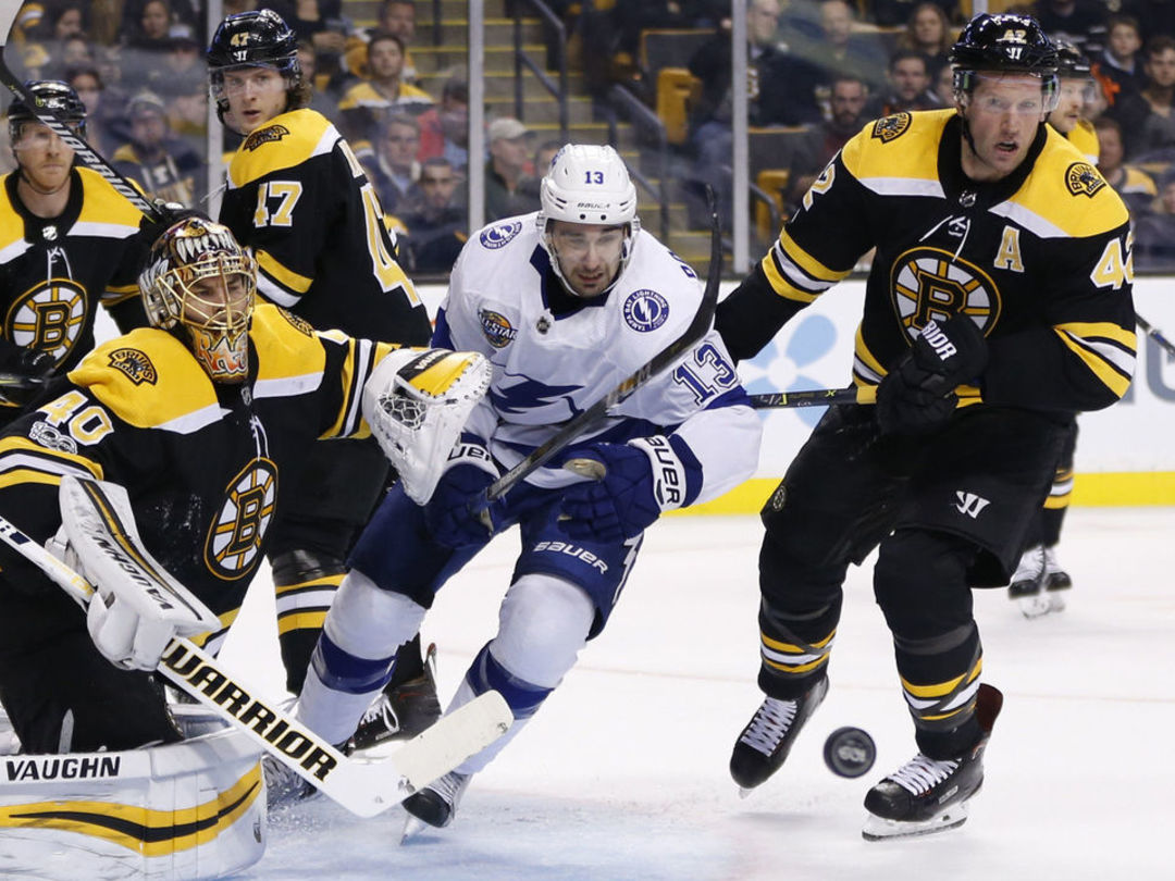 Lightning's Paquette suspended 1 game for boarding Bruins' Krug
