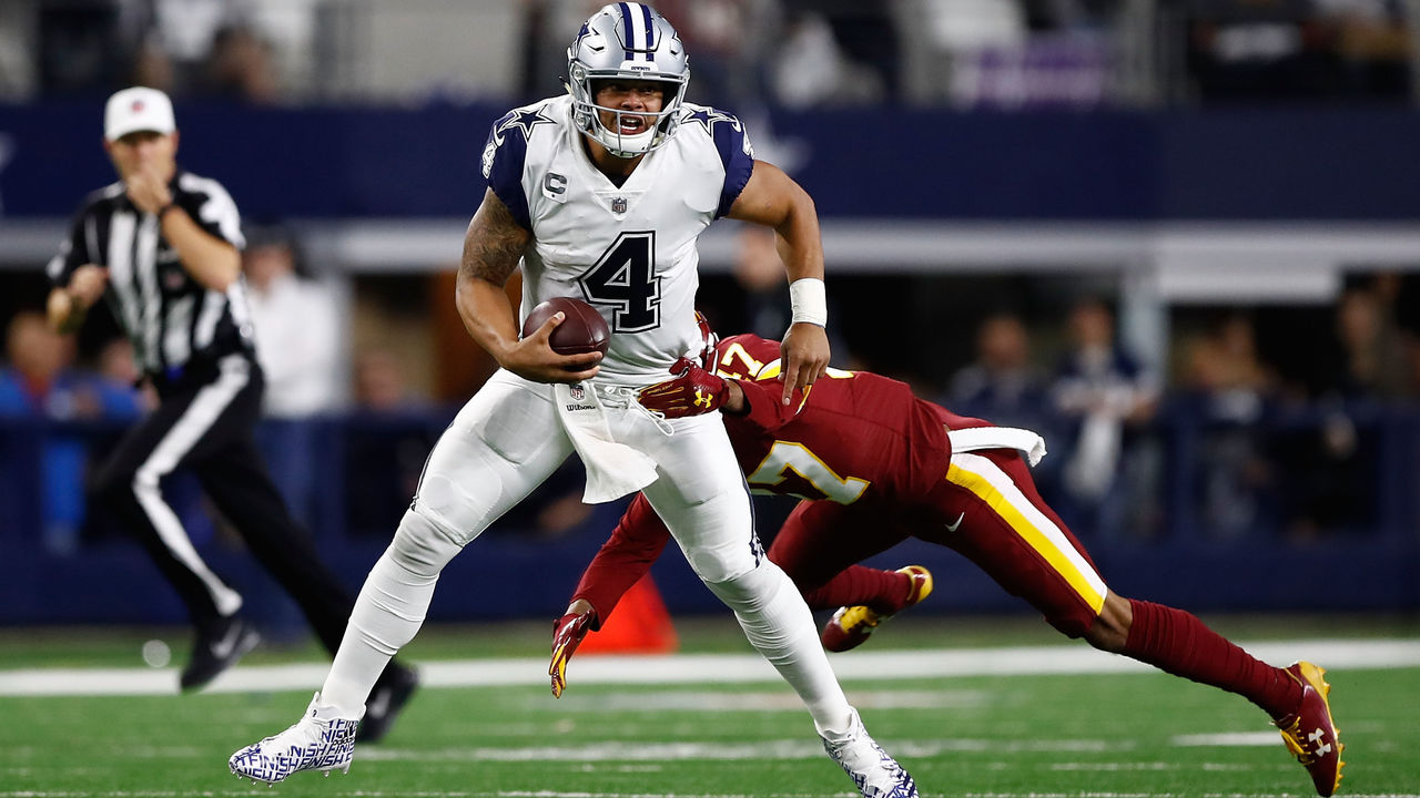 Prescott undergoes X-rays on hand, questionable to return vs. Redskins