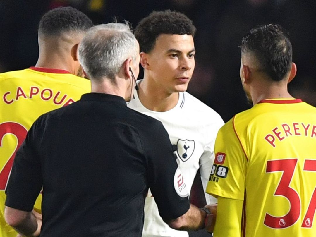 Spurs stumble in draw at Watford