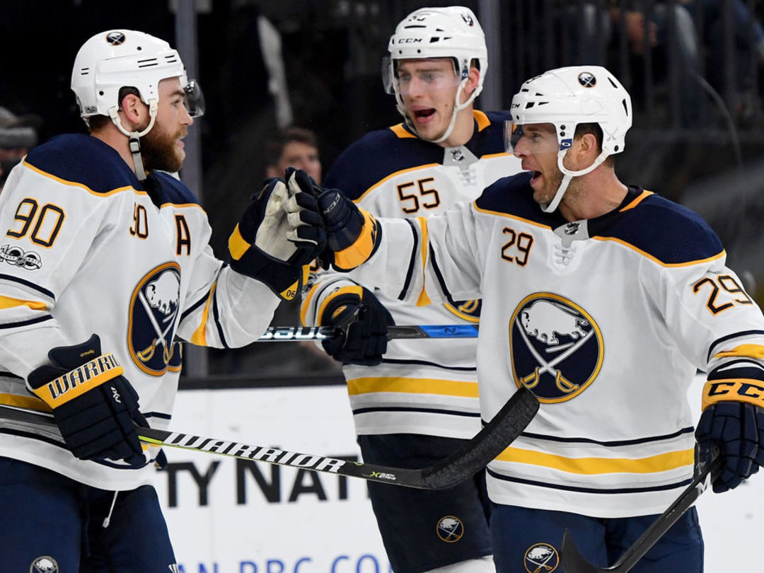 Sabres score 1st goal in over a week
